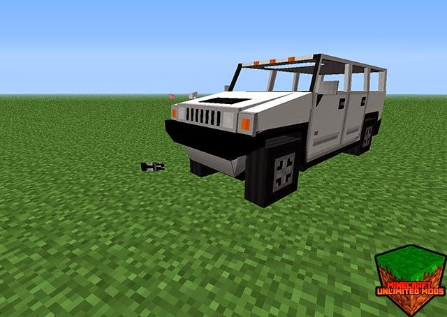 Flan's Mod Jeep