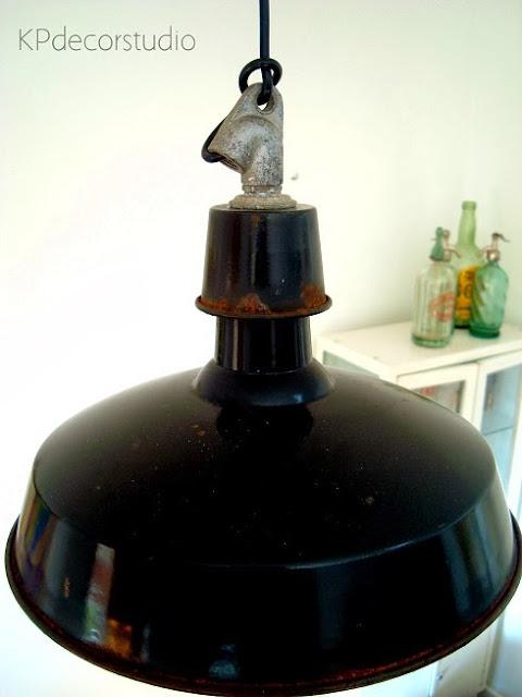 Comprar lámparas industriales. Lámpara estilo francés, de techo, antiguas, años 70, vintage