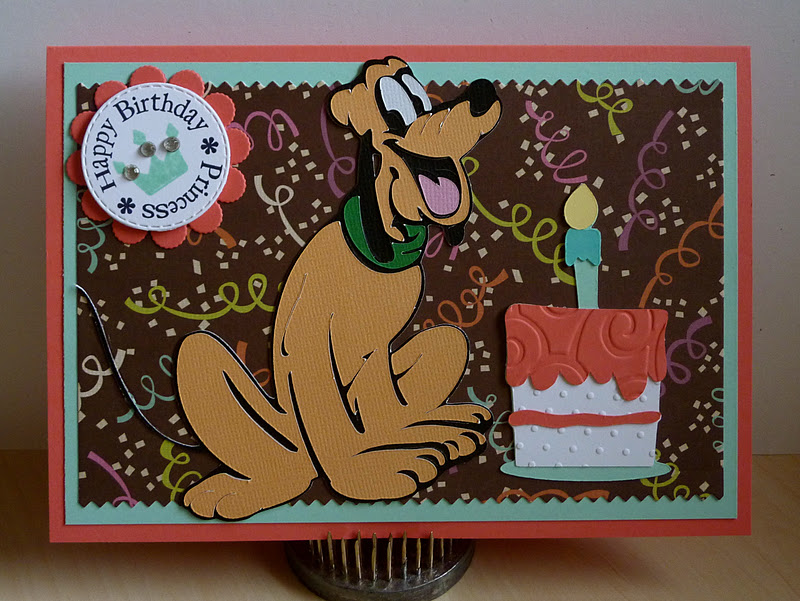 Crafting With Katie Disney Birthday Card
