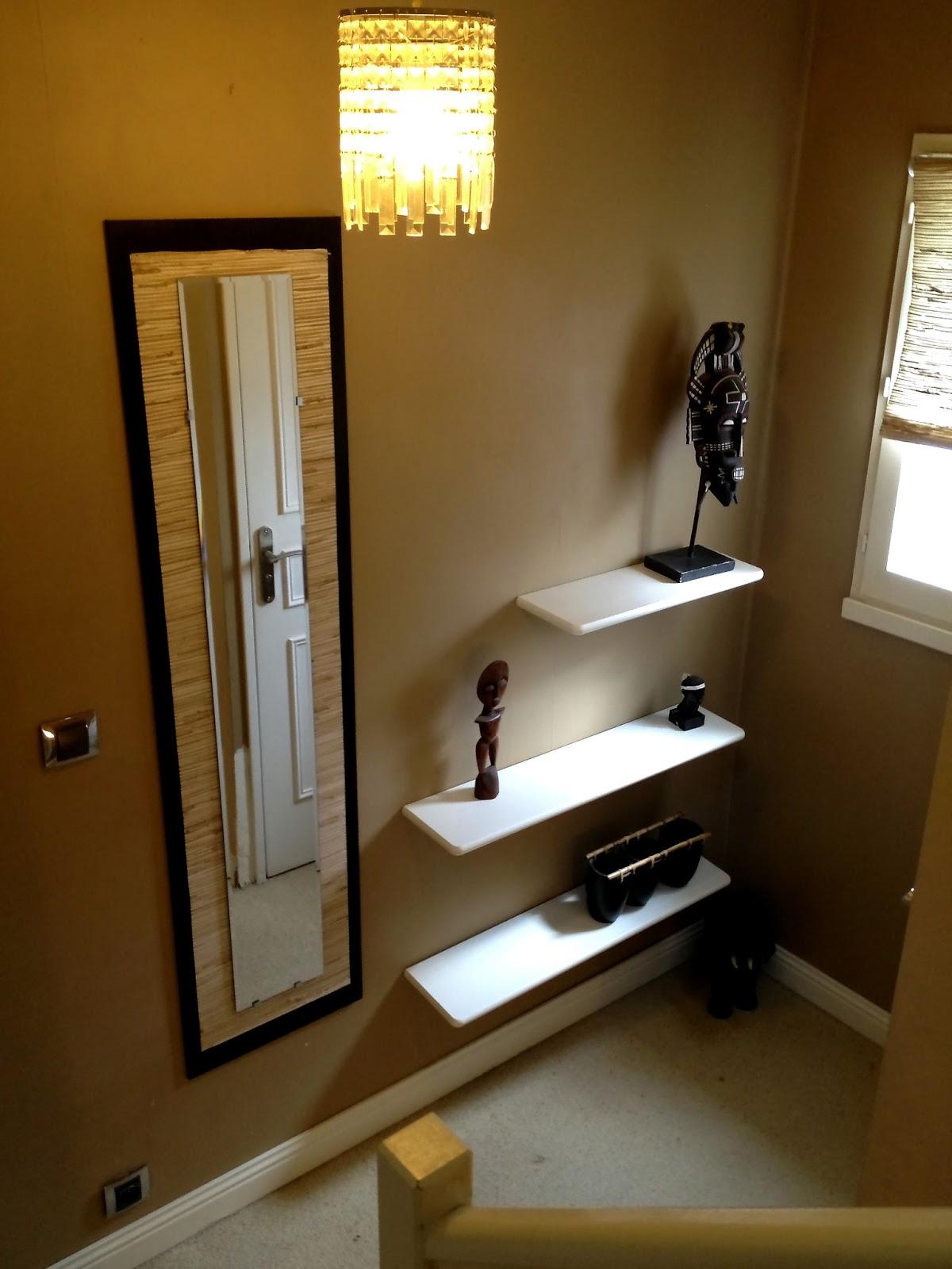 dressing sous pente avec rideaux et autres d co histoire de couloir. Black Bedroom Furniture Sets. Home Design Ideas