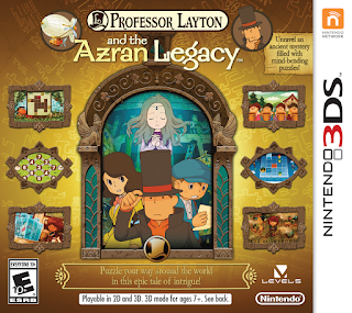 Professor Layton and the Azran Legacy USA 3DS GAME [.3DS]