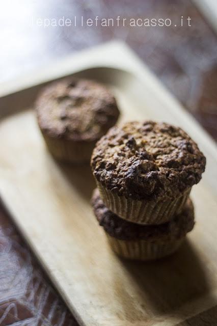 ricetta muffin integrali