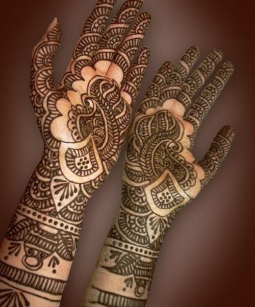Mehndi Henna Facts : Craze fashion mehndi designs and history