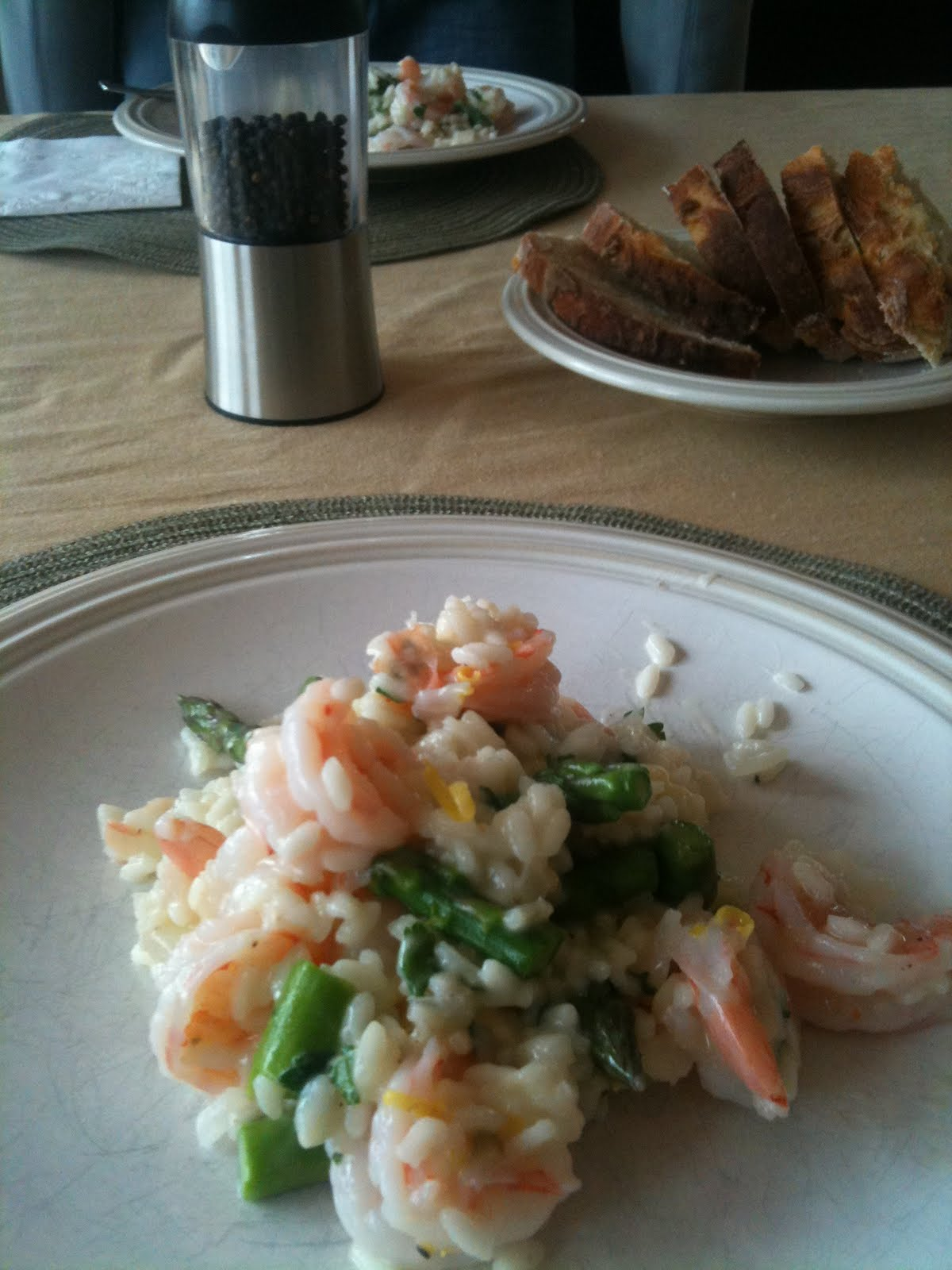 I Steal Great Recipes: Lemony Risotto with Asparagus and ...