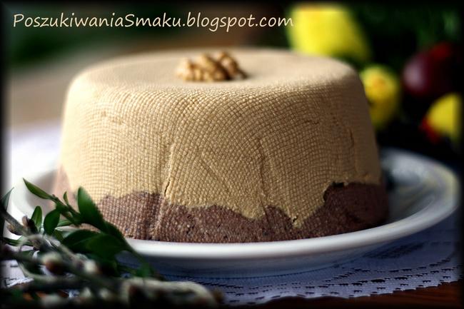 Wielkanocna pascha czekoladowo-kawowa