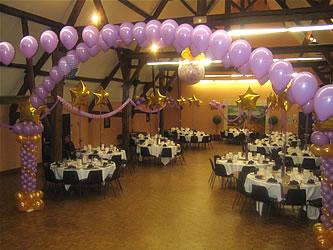 D coration mariage organisatrice de mariage en suisse - Decoration mariage avec ballon ...