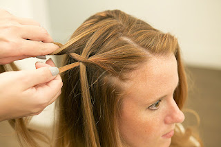 Peinados Faciles, Trenza Cascada de Costado