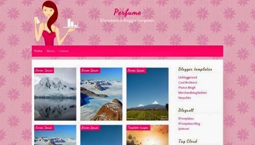 Perfume - Free Blogger Template