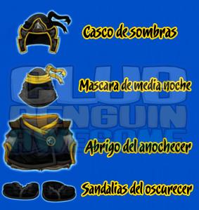 Traje De Las Sombras