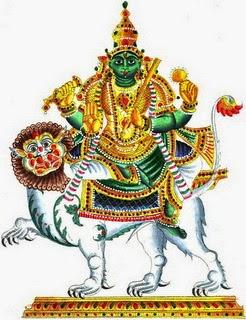 En la mitología hinduista, Budha es el nombre del planeta Mercurio, hijo del dios Chandra (dios de la Luna) con su esposa Tara o Rójini. También es el dios de la mercancía y protector de los comerciantes. No se debe confundir con Buda (o Buddha), el religioso nepalí fundador del budismo.