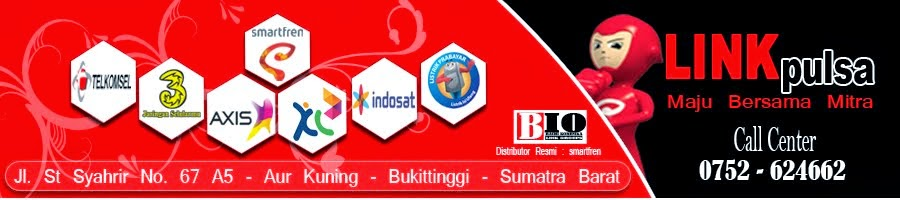 LINK PULSA | Official Blog Server Sumatra Barat | Bukittinggi
