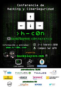 h-c0n - I CON de Hackplayers