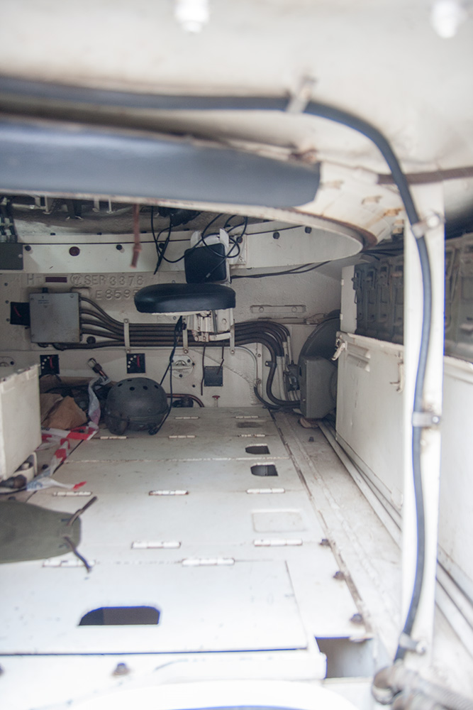 interno Sherman M4 ternavasso
