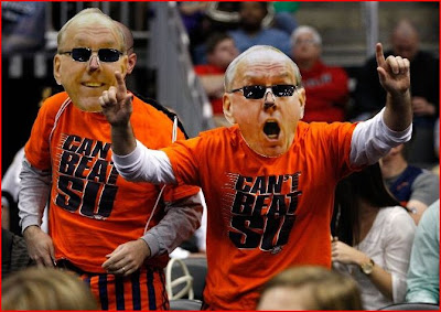 The Him Boeheim bigheads made the trip