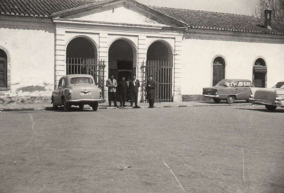 La desapareguda estació del Nord de Gandia, de la línia Carcaixent-Dénia. Foto: Paco Gramage