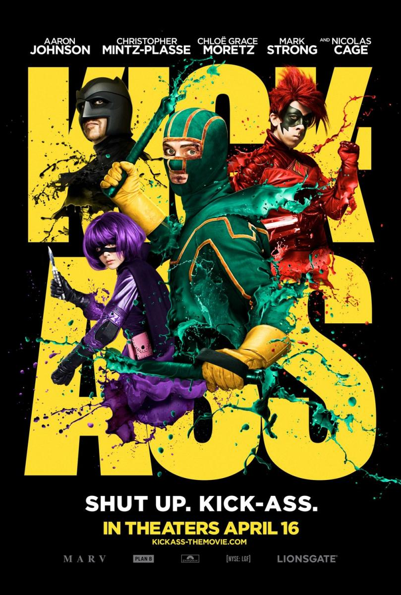 Kick-Ass: Listo para machacar / Kick Ass: Un Superhéroe sin Superpoderes (2010)