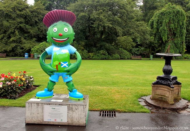 Clyde, the Commonwealth Games 2014 mascot