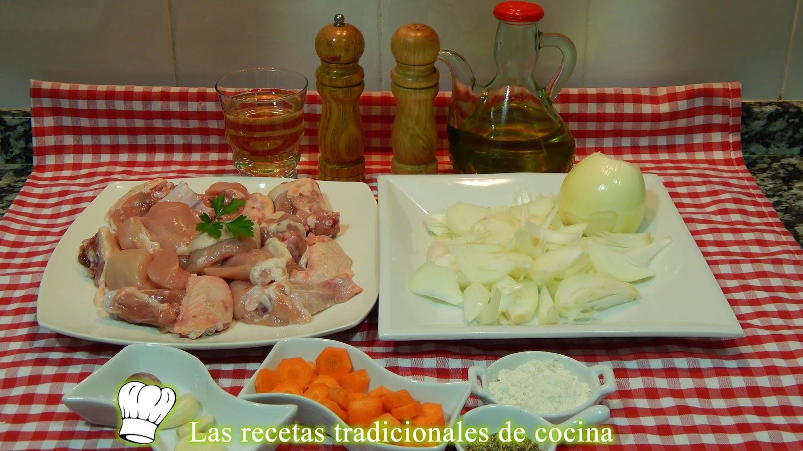 Receta fácil de pollo con salsa de cebolla