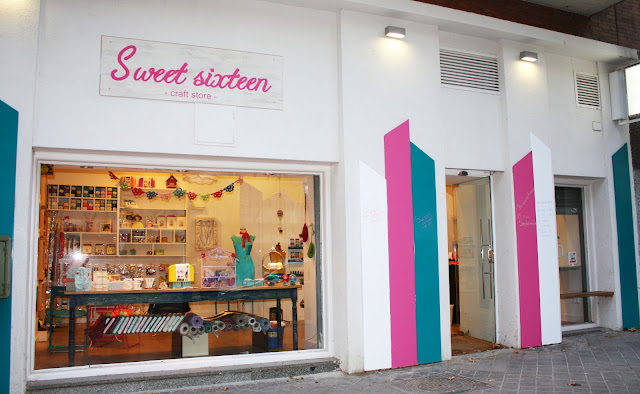 Sweet sixteen craft store Madrid
