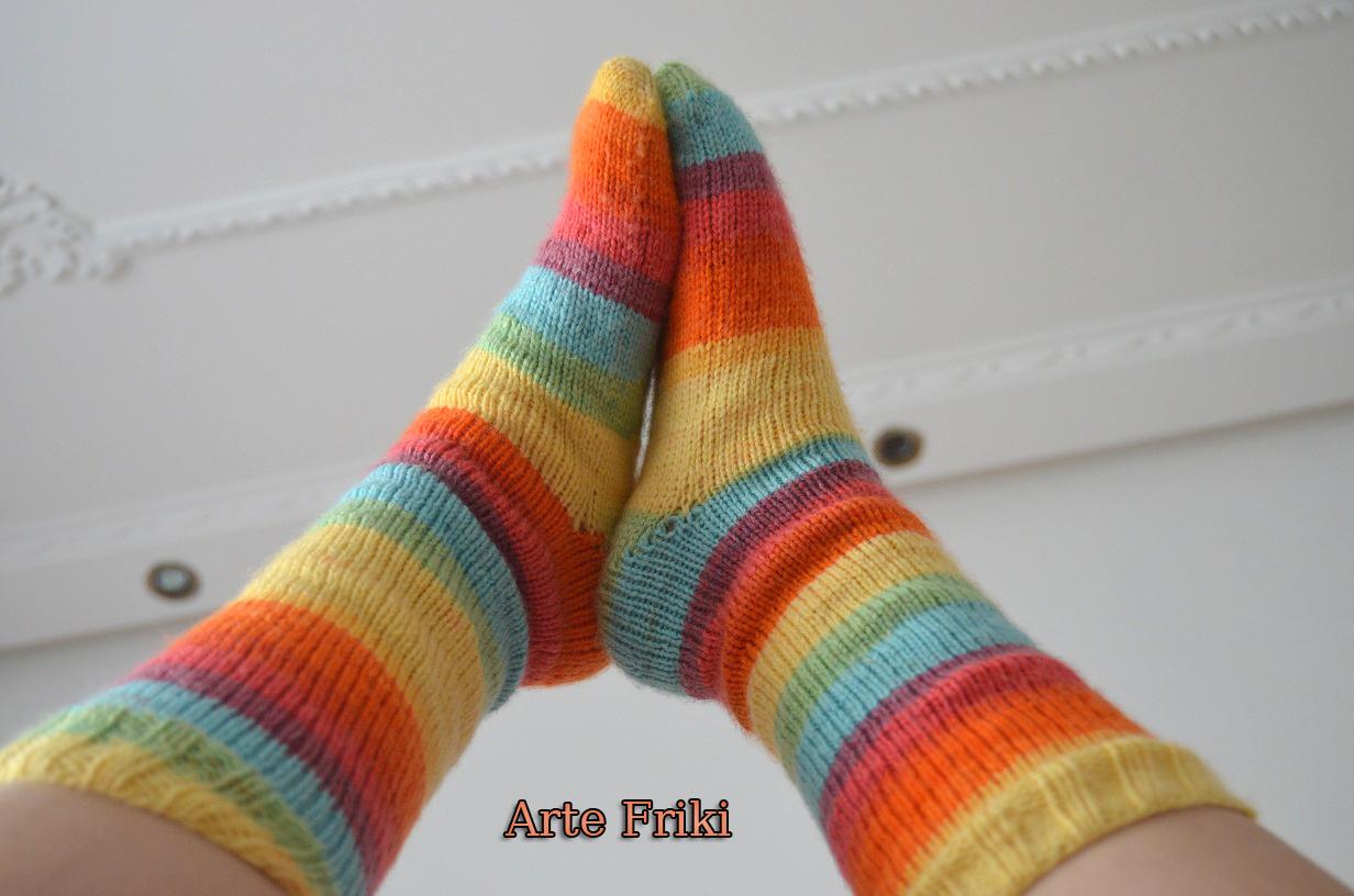 Perfecto Patrón Libre Para Calcetines De Punto Ornamento - Manta de ...