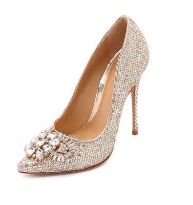 Schutz embellished high heeled pumps