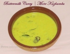 Buttermilk Curry - More Kuzhambu