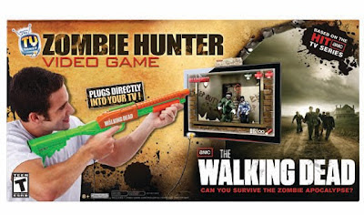 The Walking Dead Zombie Hunter tv-game