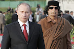 GADDAFI, EVEN HIS FRIENDS THE RUSSIANS COULD NOT SAVE HIM?