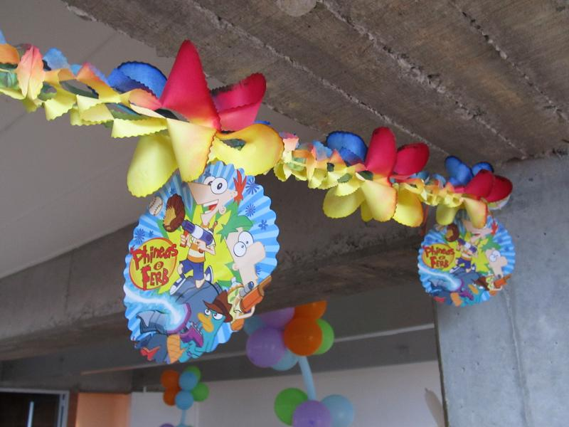 DECORACION FIESTA PHINEAS AND FERB