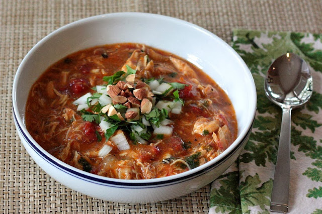 how to make a spanish chicken stew