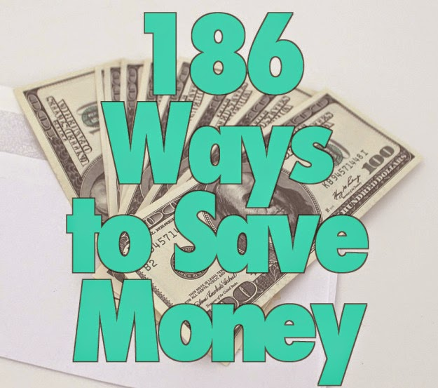 186 Ways to Save Money