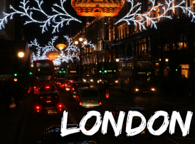 london christmas time