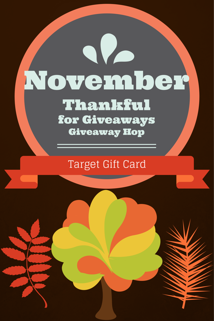 Current Giveaway: #ThankfulForGiveaways Giveaway Hop