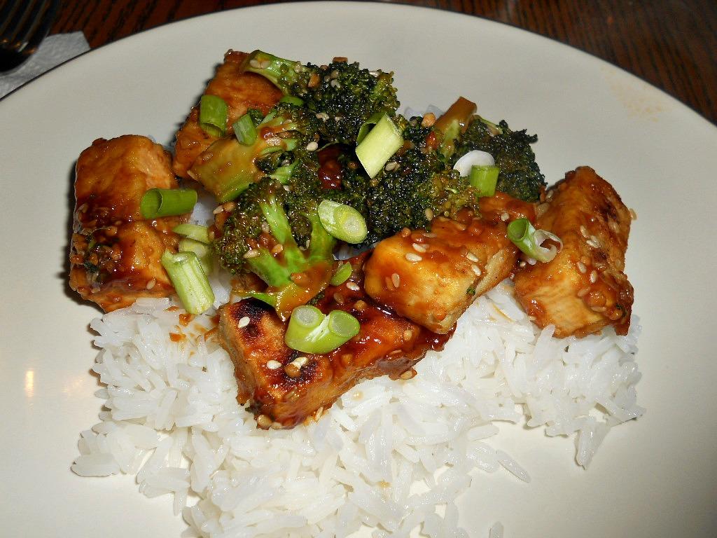 Hezzi-D's Books and Cooks: Healthy Sesame Tofu