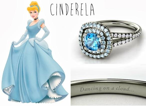 blog Mamãe de Salto aliança inspirada nas princesas da Disney Cinderela