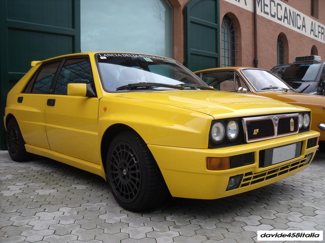 davide458italia lancia delta hf integrale evoluzione spotted photos. Black Bedroom Furniture Sets. Home Design Ideas