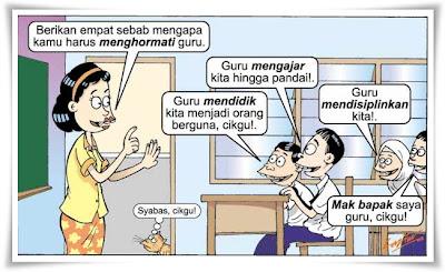Sebab-sebab mengapa kita harus menghormati guru
