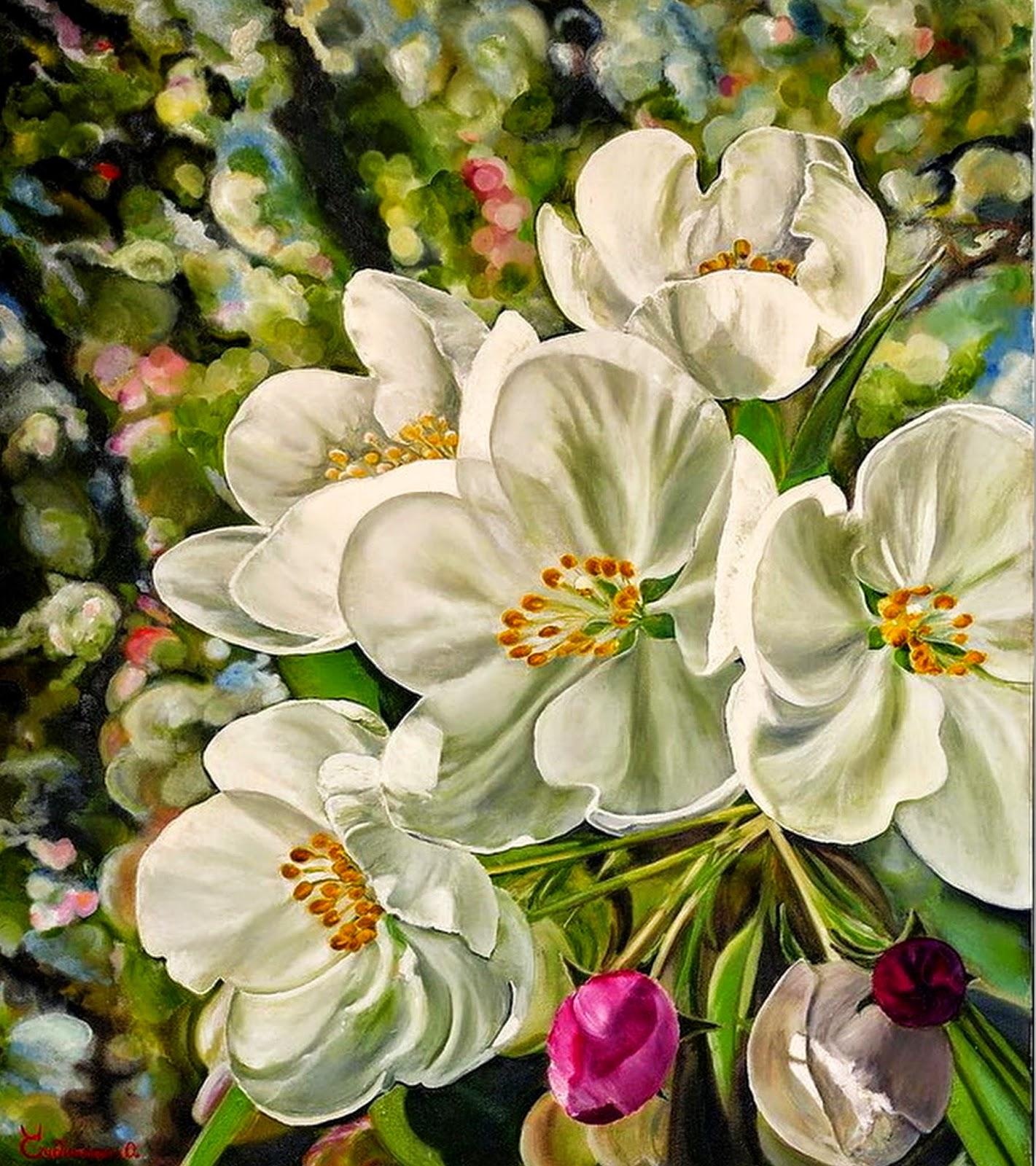 pinturas-de-flores-bodegones
