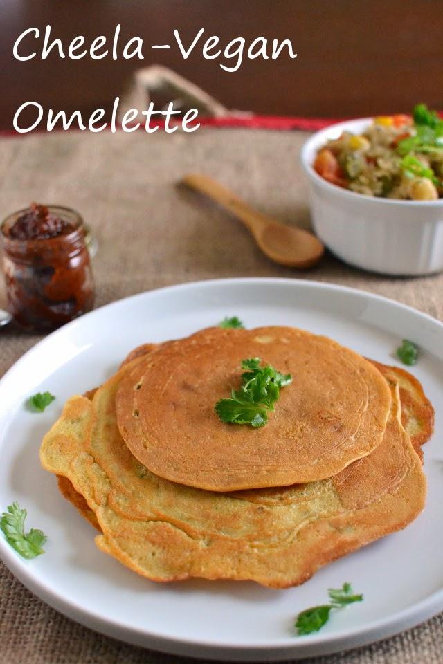 Cheela -- Vegan Omelette