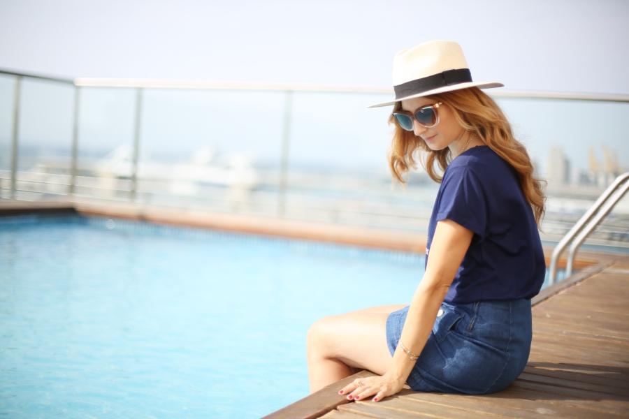 Relax. Sombrero Panamá