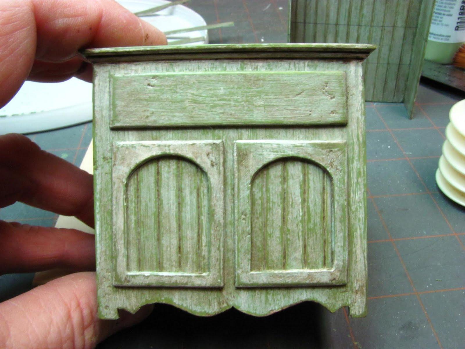 Мебель из картона миниатюрная своими руками 34