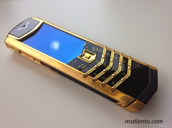 Vertu signature s gold fake 1