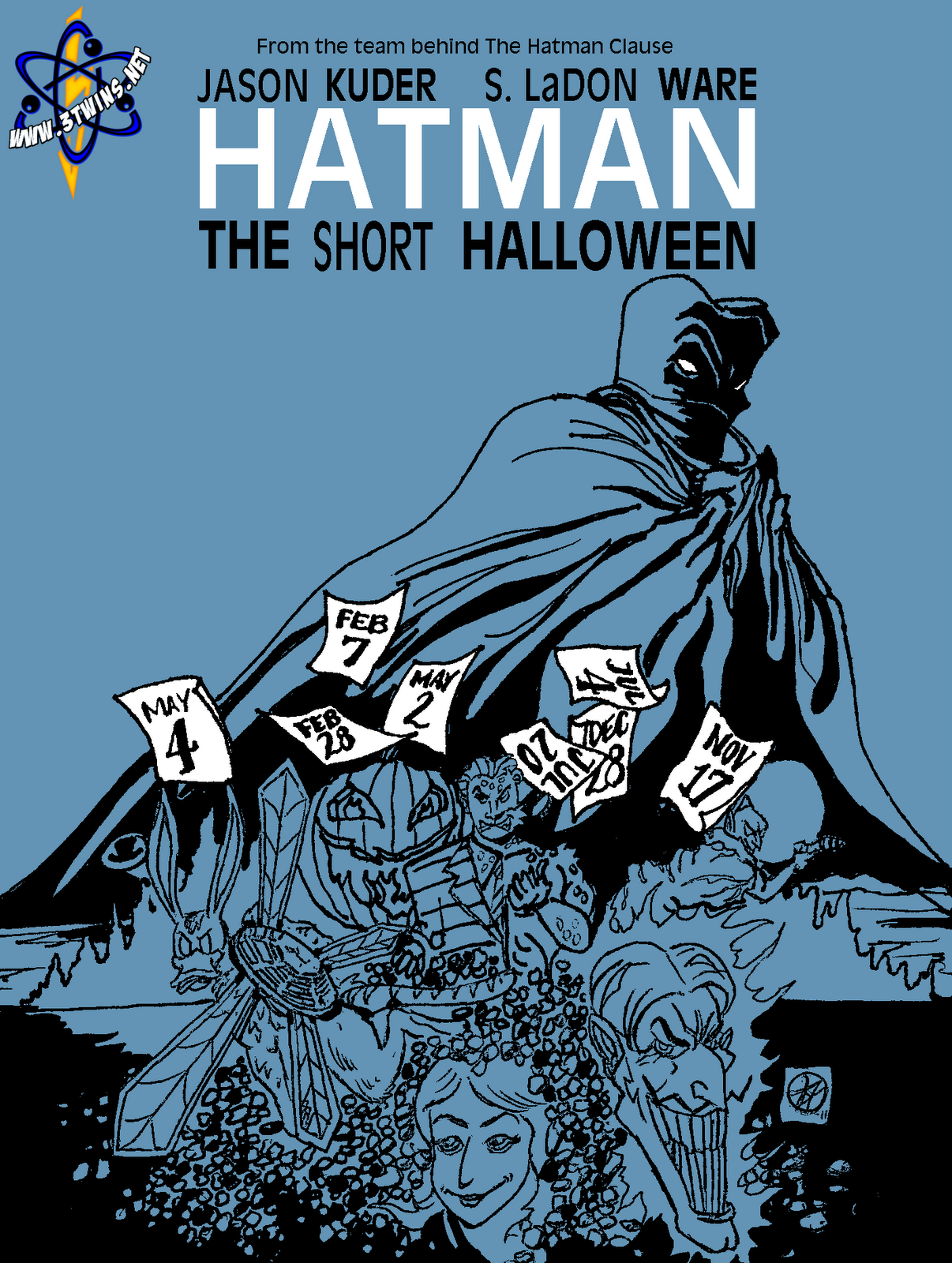 3twins raw!: the short halloween cover