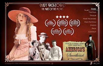 UPCOMING EVENT AUGUST 20TH:  MARY PICKFORD: THE MUSE OF THE MOVIES