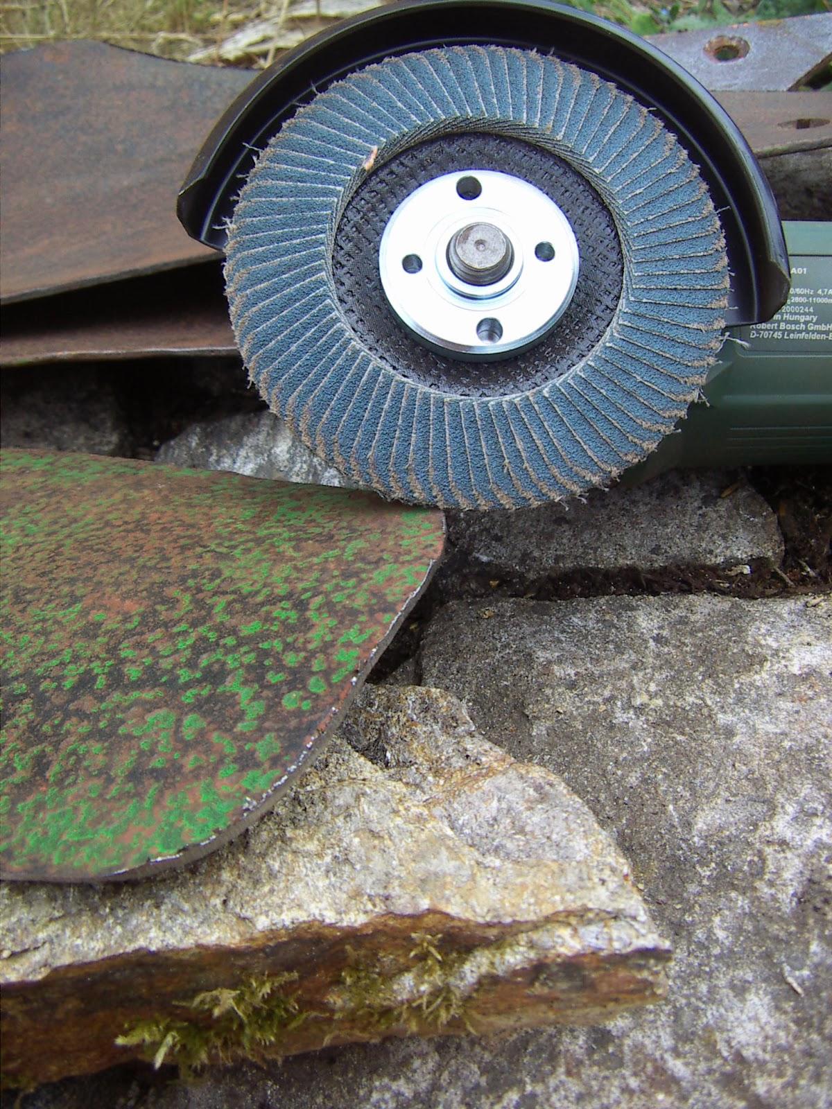 El rinc n de un aprendiz restauraci n de un antiguo arado - Quitar oxido hierro ...