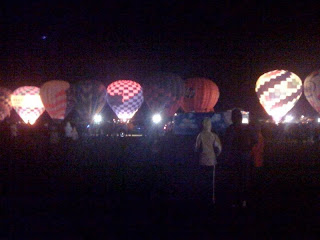 """The Glow"" Evening Event at the Balloon Fiesta"
