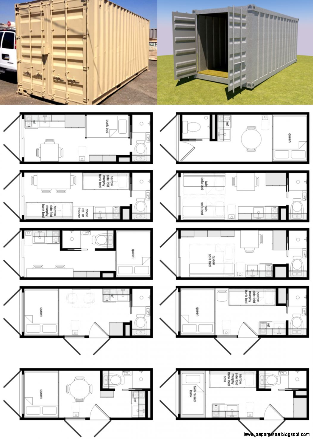Container home floor plans designs wallpapers area - Foot shipping container home ...
