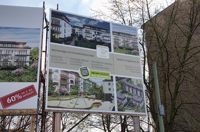 Baustelle Sandino Hofgärten, Sandinostraße / Konrad-Wolf-Straße, 13055 Berlin, 27.03.2014