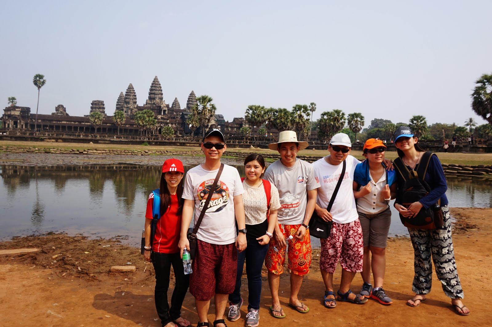柬埔寨暹粒之7人行 | 2015