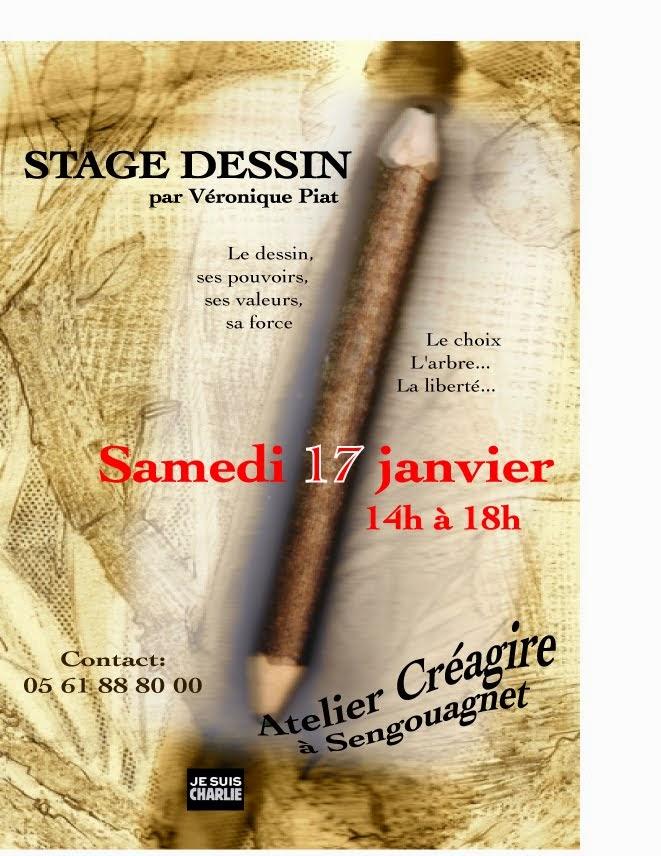 Stage dessin janvier
